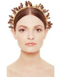 Masterpeace   Brown Oak Leaf Headband   Lyst