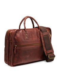 Will Leather Goods - Brown Hank Leather Satchel Bag - Lyst