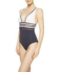 La Perla | Blue Non-wired Swimsuit | Lyst