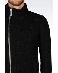 Emporio Armani - Black Mid-length Jacket for Men - Lyst