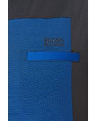 BOSS Green | Blue Cotton Polo Shirt 'pavel' for Men | Lyst