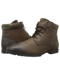 Woolrich | Green Beebe Leather for Men | Lyst
