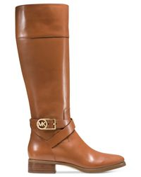 Michael Kors | Brown Michael Bryce Boots | Lyst