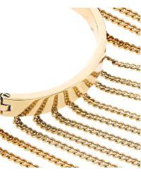 Chloé | Metallic Delphine Fringed Bracelet | Lyst