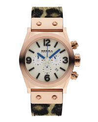 Brera Orologi - Pink Unisex Rose Gold Eterno Piccolo Pony Hair Watch for Men - Lyst
