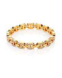 Michael Kors - Metallic Heritage Maritime Chain Tennis Bracelet - Lyst