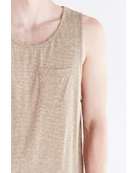 BDG | Gray Speckled Tank Top for Men | Lyst