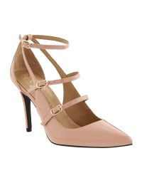 Banana Republic | Pink Desiree Strappy Pump | Lyst