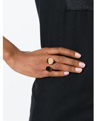 Chloé - Black 'darcey' Ring - Lyst