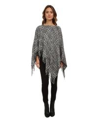 Lauren by Ralph Lauren | Gray Boucle Menswear Poncho | Lyst