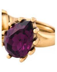 Oscar de la Renta | Multicolor Pear And Oval Shape Stone Ring | Lyst