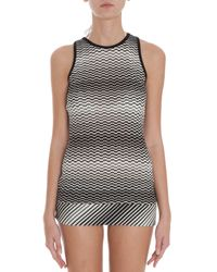 Missoni - Black Short Dress - Lyst