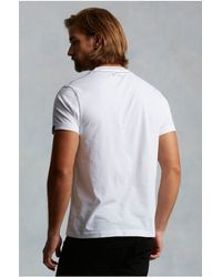 True Religion | White Deconstructed Litho Graphic Mens Tee for Men | Lyst