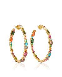 Sharon Khazzam | Multicolor Baby Hoop Earrings | Lyst