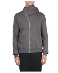 DRKSHDW by Rick Owens - Gray Mountain Hoodie for Men - Lyst