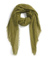 Echo - Green Sequin Embellished Crinkle Wrap - Lyst
