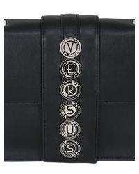 Versus - Black Leather Top Handle Bag - Lyst