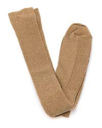 Sofie D'Hoore - Brown Fever Jersey Socks - Lyst