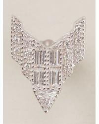 V Jewellery | Metallic Deco Chrysler Earrings | Lyst