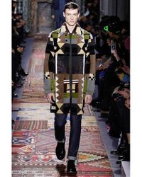 Valentino - Multicolor Patchwork Fur Coat for Men - Lyst