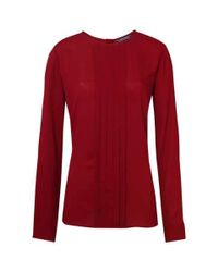 Tommy Hilfiger | Red Mabel Blouse | Lyst