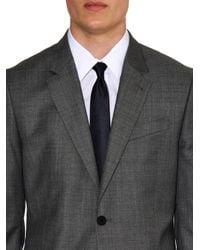 Balenciaga - Blue Silk-Satin Tie for Men - Lyst