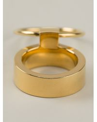 Ruifier | Metallic 'icon' Ring | Lyst