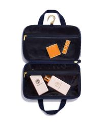 Tory Burch - Multicolor Printed Nylon Hanging Zip Cosmetic Case - Lyst