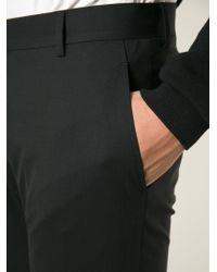 Tonello - Black Tailored Trousers for Men - Lyst