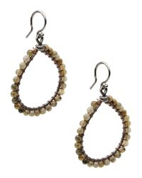 Chan Luu | Brown Earrings | Lyst