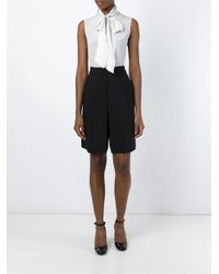 Cacharel - Black Knee-length Shorts - Lyst