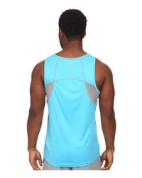 Under Armour | Blue Ua Coldblack® Singlet for Men | Lyst