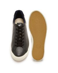 Veja | Black Esplar Leather Sneakers for Men | Lyst