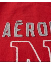 Aéropostale | Red Big Ny Logo Graphic T | Lyst