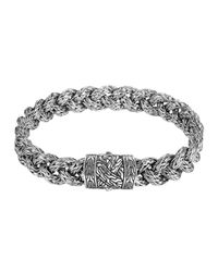 John Hardy - Metallic Men's Classic Chain Braided Bracelet for Men - Lyst