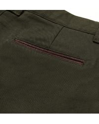 Musto Shooting - Green Sporting Breeks Brushedtwill Cottonblend Cropped Trousers for Men - Lyst