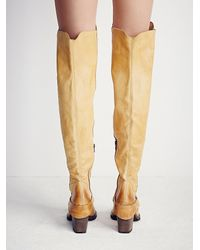Free People - Natural Fp Collection Womens Auburn Tall Boot - Lyst