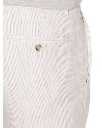 Chester Barrie - White Bengal Tapered Fit Chino for Men - Lyst