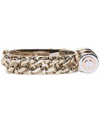Givenchy | Metallic Brass Obsedia Bar Cuff | Lyst