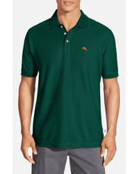 Tommy Bahama - Green 'The Emfielder' Pique Polo for Men - Lyst