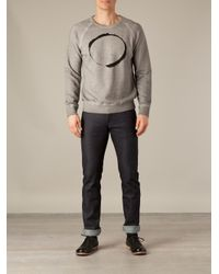 BLK OPM - Gray Eclipse Sweatshirt for Men - Lyst