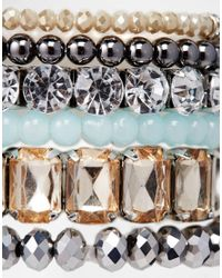 ALDO | Metallic Morewiel Stretch Multipack Bracelet | Lyst