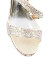 Caparros | Metallic Visage Sparkle Stiletto Sandals | Lyst