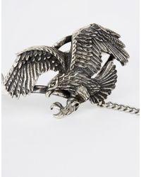 ASOS | Metallic Festival Eagle Hand Harness | Lyst