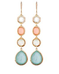 Ippolita | Metallic Gold Wonderland Four Stone Drop Earrings | Lyst