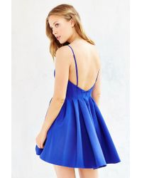 Keepsake - Blue Star Crossed Dress - Lyst