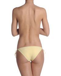 Ermanno Scervino - Yellow Bikini Bottoms - Lyst