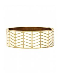 House of Harlow 1960 | Metallic Enameled River Cuff White | Lyst