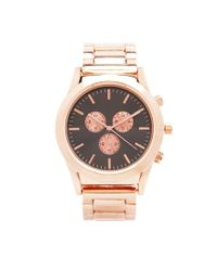 Forever 21 - Metallic Analog Chronograph Watch - Lyst
