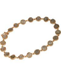 Irene Neuwirth | Green Round-Link Bracelet | Lyst